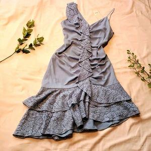 "Keepsake ""all night dress"" dusty blu szM NWT [816]"